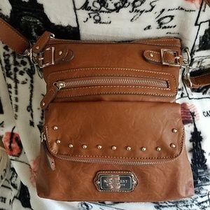 """Nine West purse L 10"""" × H 10 1/4"""" × D  1 1/2"""""""